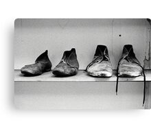 Old Gaol Boots Canvas Print