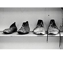 Old Gaol Boots Photographic Print