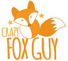 Crazy fox guy Photographic Print