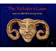 "WALL of CLAY ""The Trickster's Game"" Photographic Print"