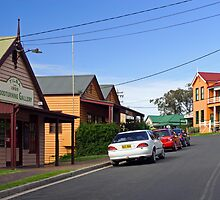 Bate Street in Central Tilba by Darren Stones