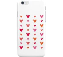 Floating Hearts iPhone Case/Skin