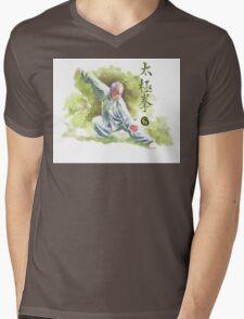 Tai Chi Chuan Mens V-Neck T-Shirt