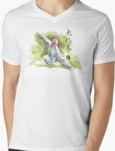 Tai Chi Chuan Mens V-Neck T-Shirt