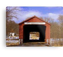 Bridge to Yesteryear Metal Print