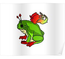 Fairy Frog Poster