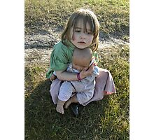 """Me and My Doll"" #5 Photographic Print"