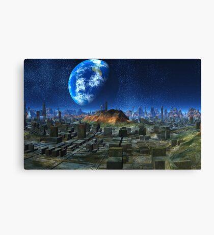 Plague World  Canvas Print