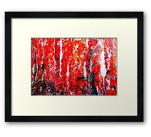 Festival of Colours Framed Print
