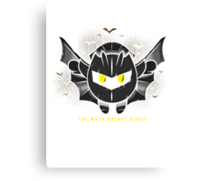 The Meta Knight Rises Canvas Print