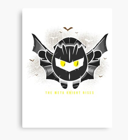 The Meta Knight Rises Canvas Print