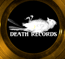Death Records-Phantom of the Paradise Sticker