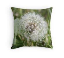 Dandelion Puff Throw Pillow