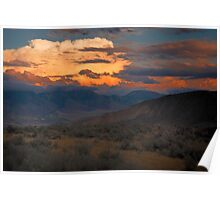 Paint me a Sunset Poster