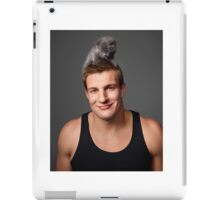 Gronk with a Cat T-Shirt iPad Case/Skin