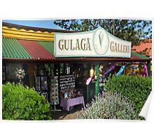 Gulaga Gallery at Central Tilba Poster