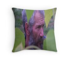 Candid shot Throw Pillow