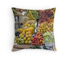 Market Day Throw Pillow