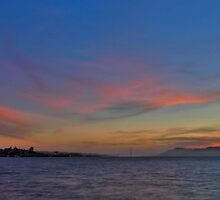 San Francisco Sunset 2 by Gary Rondez