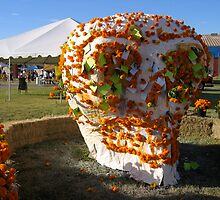 Marigold Skull by alisetgo