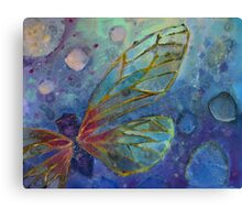 Colorful Insect Abstract Canvas Print