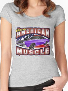 American Muscle Car Series - Super Bee Women's Fitted Scoop T-Shirt