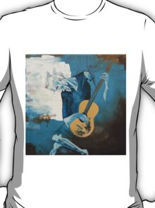 The Old Guitarist: A Picasso Study T-Shirt