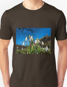 Snowdrops in the English church Unisex T-Shirt