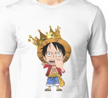 Luffy Pirate King Chibi Unisex T-Shirt
