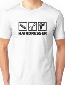Hairdresser equipment Unisex T-Shirt