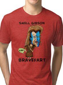 SMELL GIBSON Tri-blend T-Shirt
