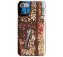 Door of Old Truck iPhone Case/Skin