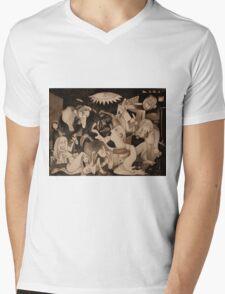 My Guernica: A Picasso Study Mens V-Neck T-Shirt
