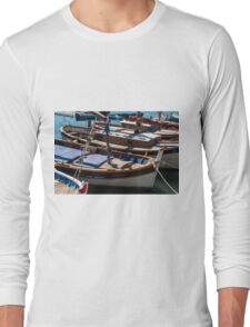 Fishing boats, Cassis, French Riviera Long Sleeve T-Shirt