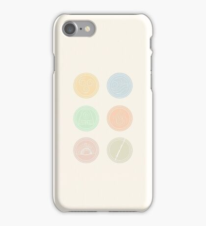 Air, Water, Earth, Fire, Fan and Sword! iPhone Case/Skin