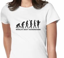 Evolution World's Best Hairdresser Womens Fitted T-Shirt