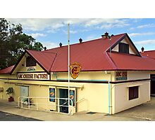 ABC Cheese Factory at Central Tilba Photographic Print