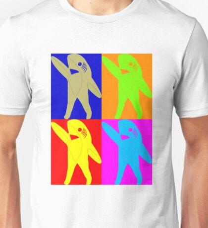 Left Shark Super Bowl POP ART (Warhol) Half Time Dancing Shark 2015 Unisex T-Shirt