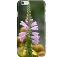 Three Pink Flowers iPhone Case/Skin
