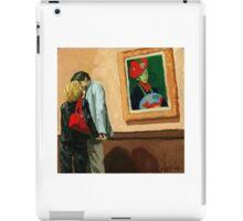 Under Watchful Eyes -  oil painting iPad Case/Skin