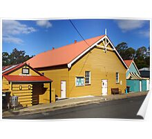 Community Hall at Central Tilba Poster