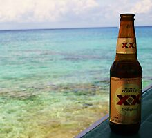 Beer and Beach by Adria Bryant
