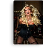 Wendy whipped herself up into a frenzy  Canvas Print