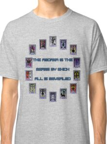 Persona 3 Arcana Quotes Classic T-Shirt