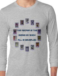 Persona 3 Arcana Quotes Long Sleeve T-Shirt