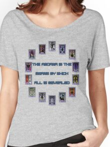 Persona 3 Arcana Quotes Women's Relaxed Fit T-Shirt