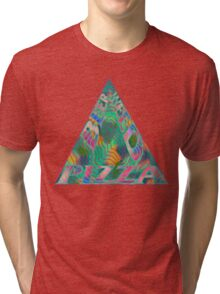Beer Weed Pizza Tri-blend T-Shirt