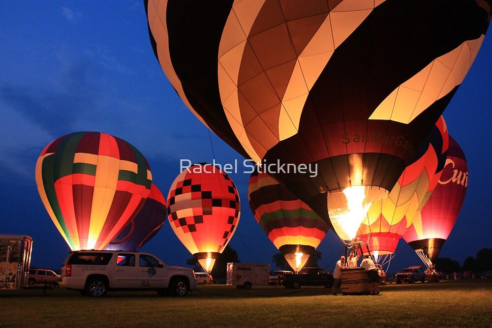 Balloon Glow by Rachel Stickney