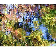 Coloured Water 5 Photographic Print