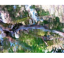 Coloured Water 4 Photographic Print
